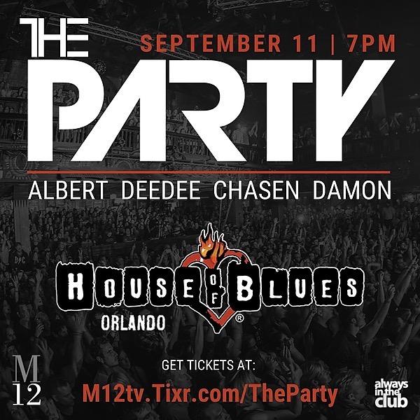 #AlwaysInTheClub   #MMC89 The Party Reunion Concert (House of Blues Orlando @ DisneySprings) Link Thumbnail   Linktree