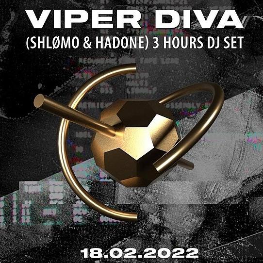OCTOV Viper Diva (Shlømo & Hadone) - tickets Link Thumbnail   Linktree