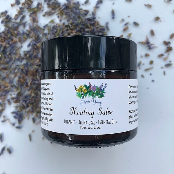Forever Young Healing Salve Link Thumbnail | Linktree