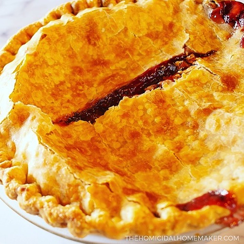 "The Homicidal Homemaker ""Thinner"" Cursed Strawberry Blood Orange Pie Link Thumbnail | Linktree"