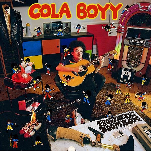 "Cola Boyy Debut album ""Prosthetic Boombox"" out now Link Thumbnail | Linktree"