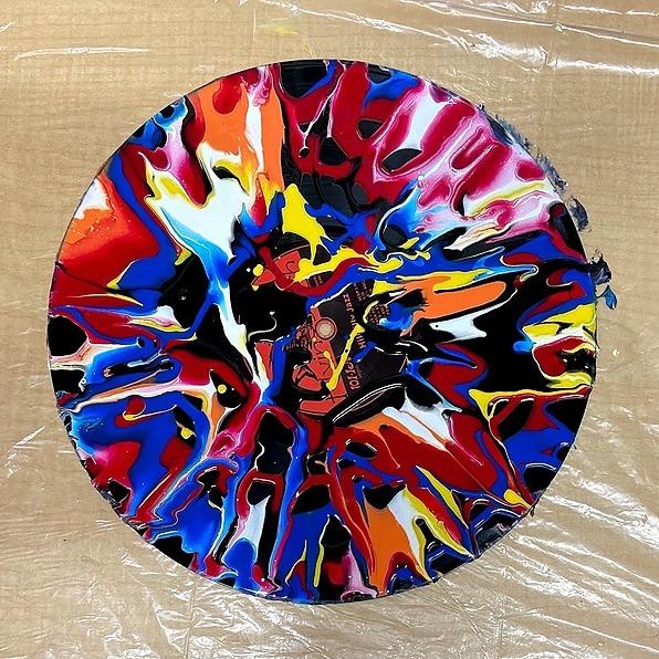 Spin Art Raffle