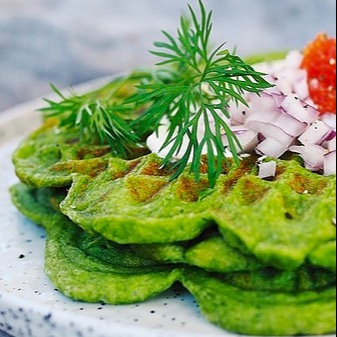 ceciliafolkesson.se Gröna glutenfria våfflor  Link Thumbnail | Linktree