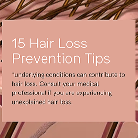 15 Hair Loss Prevention Tips