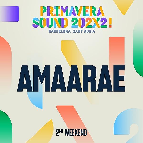 @Amaarae_ 10/06/2022 - Primavera Sound, Barcelona  Link Thumbnail | Linktree