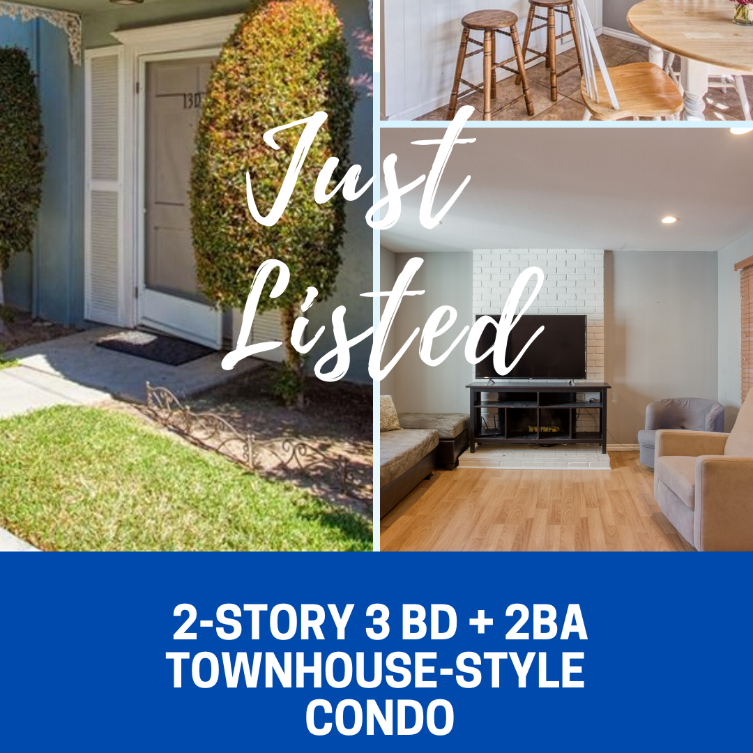 3 Bd & 2 Ba 2 Story Townhouse-Style Condo Westside       Costa Mesa 🏡