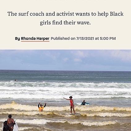 Black Girls Surf The ocean is my church. Link Thumbnail   Linktree