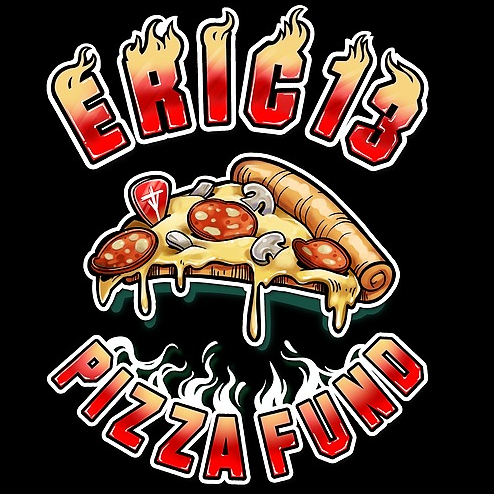 THE WORLD OF ERIC13 ERIC13 PIZZA FUND MERCH! Link Thumbnail | Linktree