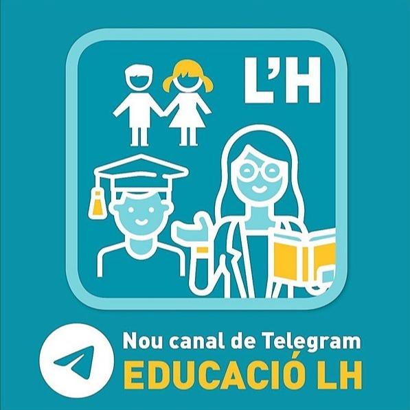 Canal de Telegram Educació LH