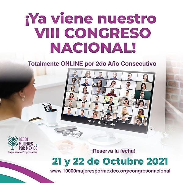 10,000 Mujeres por México Congreso Nacional 2021 Smart Business / 21 y 22 Octubre 2021 Link Thumbnail | Linktree