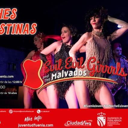 Evil Eva Burlesque Evil, evil Girrrls and The Malvados en Casa de la Juventud en Fuenlabrada  Link Thumbnail | Linktree