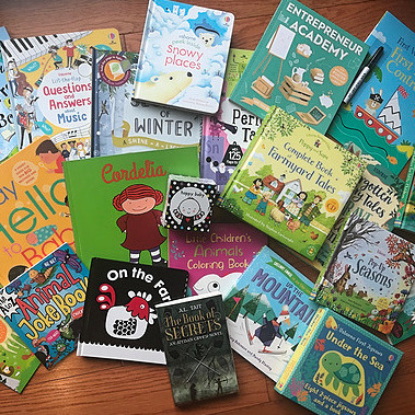 Katie's Adventures in Bookland Shop the books Link Thumbnail | Linktree