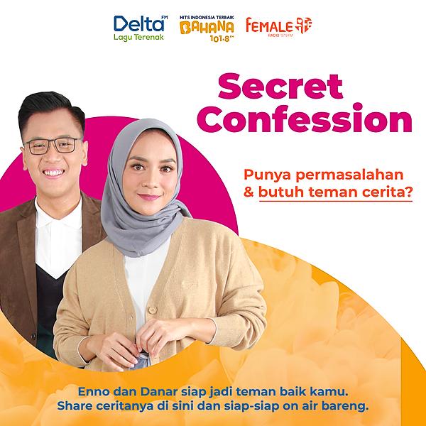 @femaleradio Secret Confession Link Thumbnail | Linktree