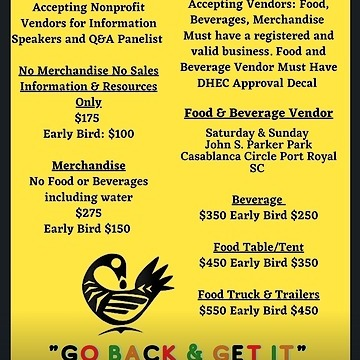 Now Accepting Vendors!