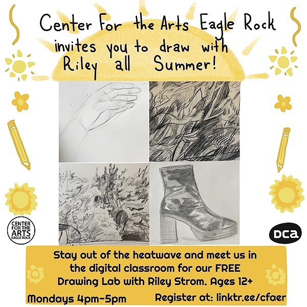 @CFAER Drawing Lab with Riley Strom 4:30pm Mondays Link Thumbnail | Linktree
