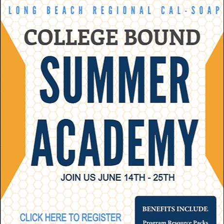 @lscollegecorner LB CALSOAP COLLEGE BOUND SUMMER ACADEMY Link Thumbnail | Linktree