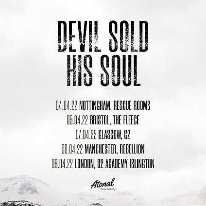 Devil Sold His Soul Manchester - 08/04/22 Link Thumbnail | Linktree