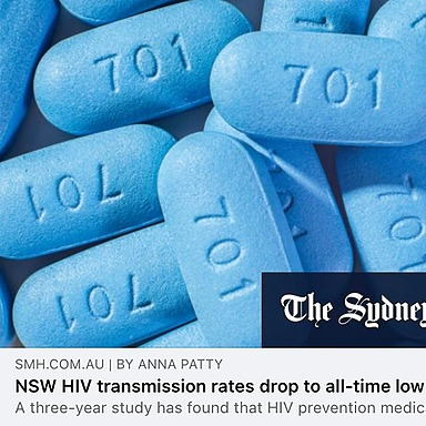@ACONhealth NSW HIV Transmission Rates Drop to All-Time Low: SMH Link Thumbnail   Linktree