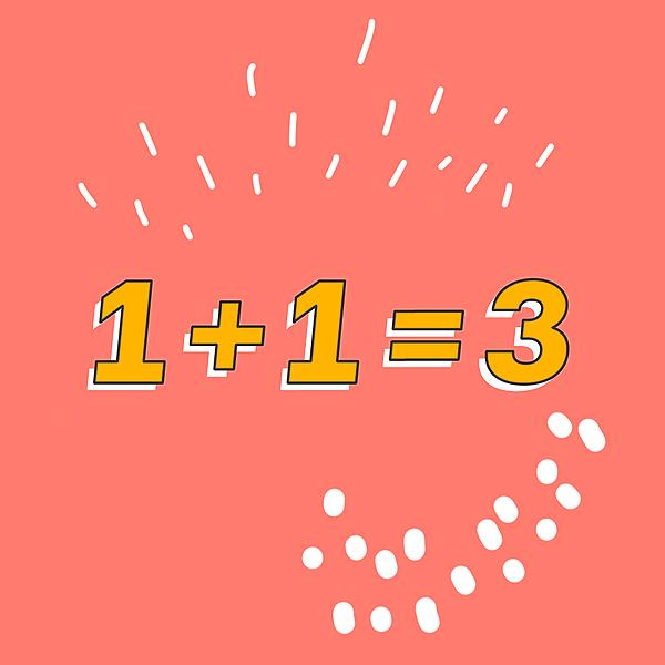 Catálogo - 1+1=3