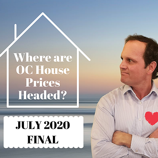 Orange County Housing Market Update - July 2020 Final Numbers