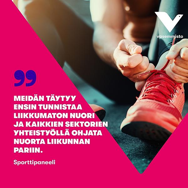 6/5 FB post - Toimenpiteet lahtelaisten nuorten liikkumisen lisäämiseksi