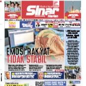 @sinar.harian Emosi rakyat tidak stabil Link Thumbnail | Linktree