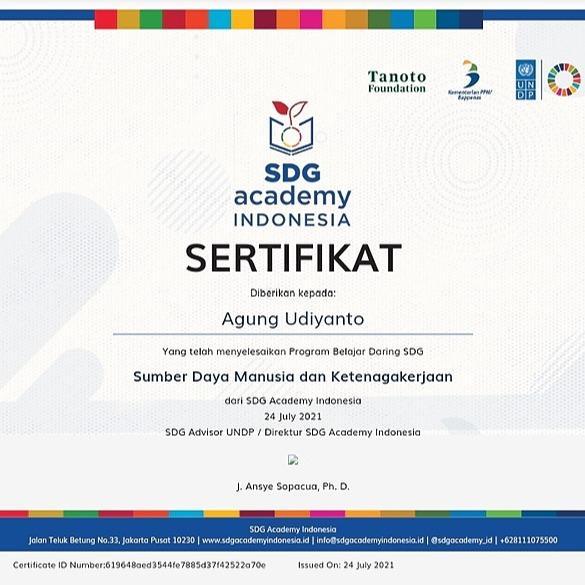 PKBM Bakti Nusa Sekolah Gratis UNDP Certificate Link Thumbnail | Linktree