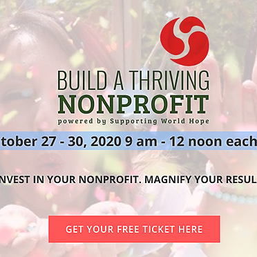 (Get Tickets Here) I am a Speaker at Build a Thriving NonProfit - The Summit Oct 27-30