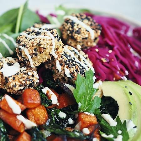 ceciliafolkesson.se Glutenfri falafel Link Thumbnail | Linktree