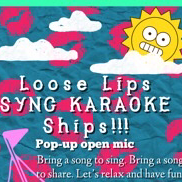 """@PhynneBelle MONTHLY POP-UP: """"LOOSE LIPS SYNC KARAOKE SHIPS"""" MUSICAL OPEN MIC (EVERY LAST TUESDAY OF THE MONTH) Link Thumbnail   Linktree"""