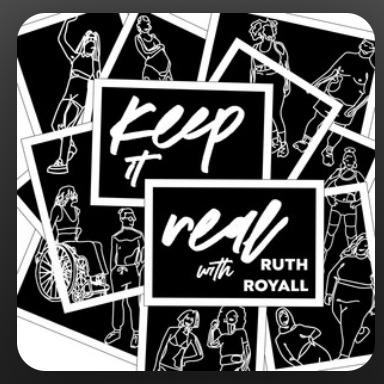 Welcome to Riyality Keep it Real Podcast by Ruth Royall ft. Riya Link Thumbnail | Linktree