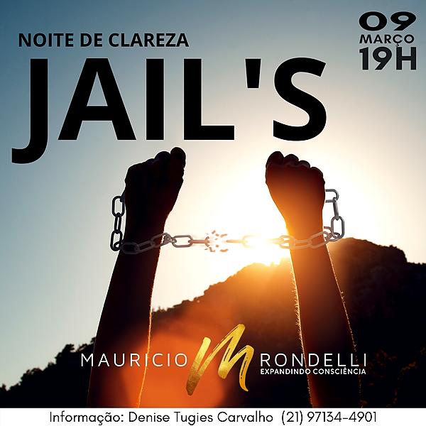 """Noite Clareza """"JAIL's""""-09/03- 19h- Online"""