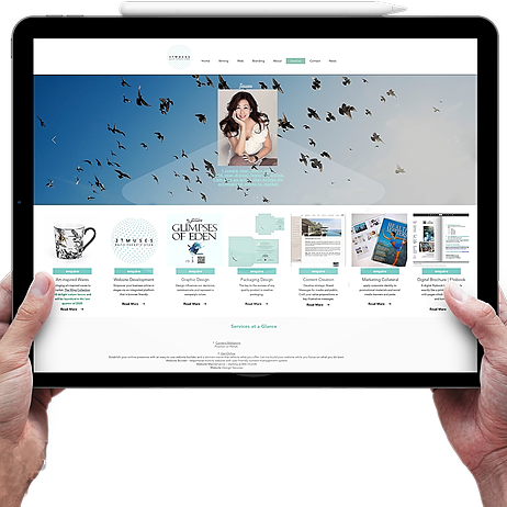 Website Builder: I create your story and build your digital print online