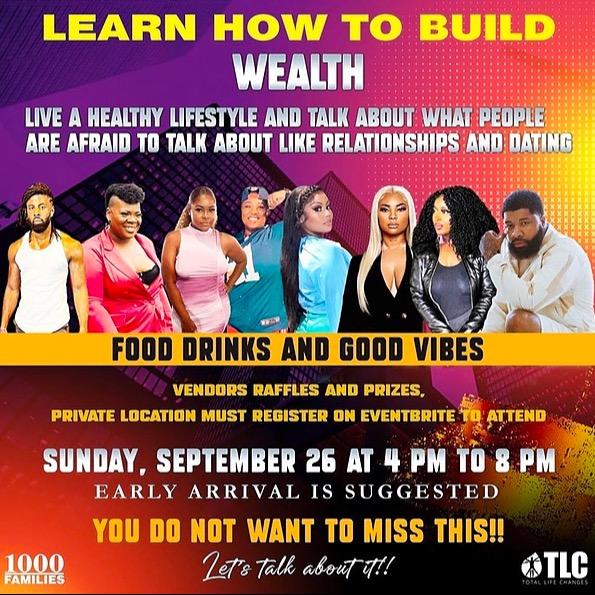 @pillowtalkwiththeteapodcast Health, Wealth & RelationShip Talk Event‼️ Link Thumbnail   Linktree