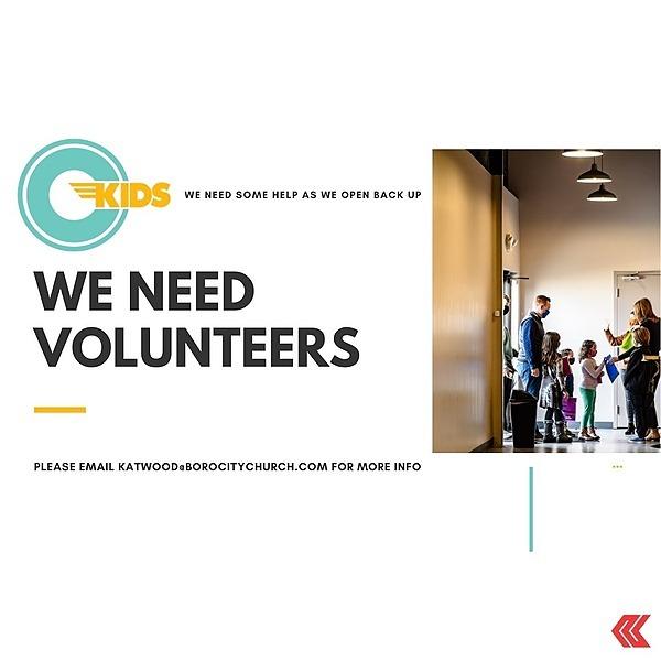 CityKids Volunteer Form