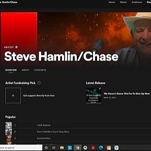 Steve Chase Singer Songwriter Spotify Link Thumbnail | Linktree