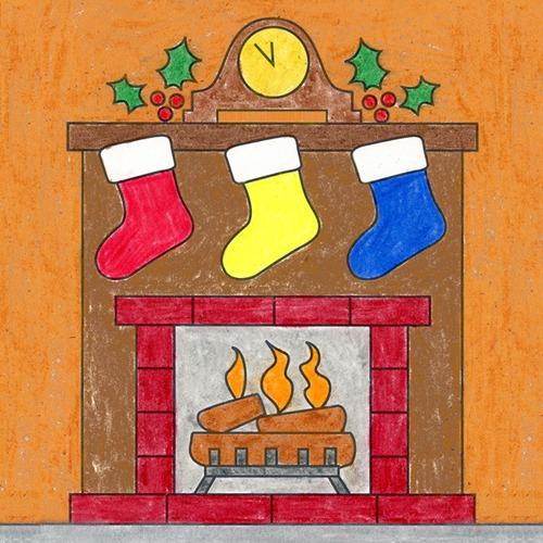 @artprojectsforkids Draw a Fireplace Link Thumbnail   Linktree