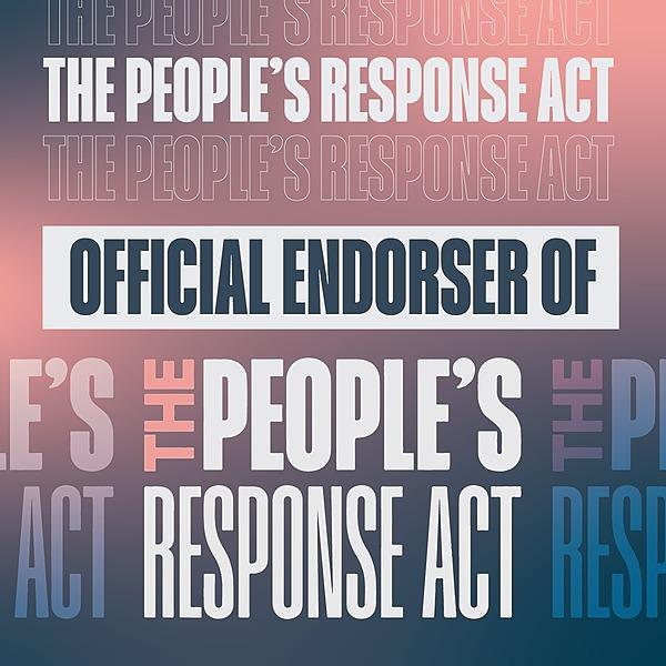 Brooklyn Community Bail Fund BCBF Endorses People's Response Act Link Thumbnail | Linktree