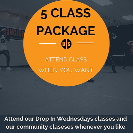 NEW: 5 and 10 Class Packages!