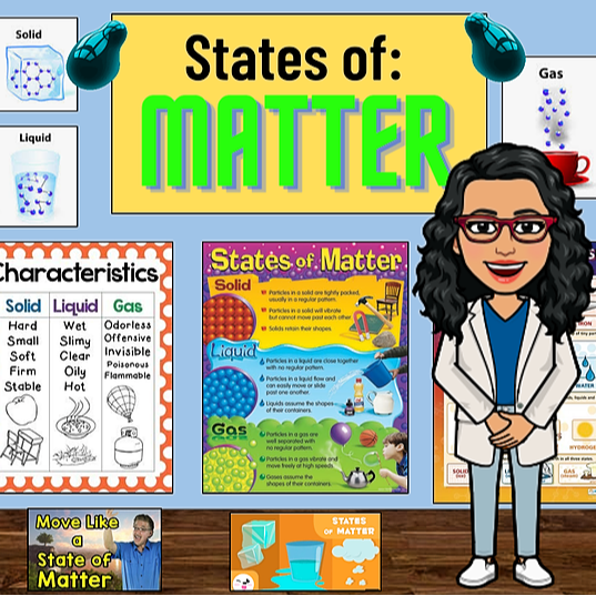 Miss Hecht Teaches 3rd Grade States of Matter Link Thumbnail | Linktree