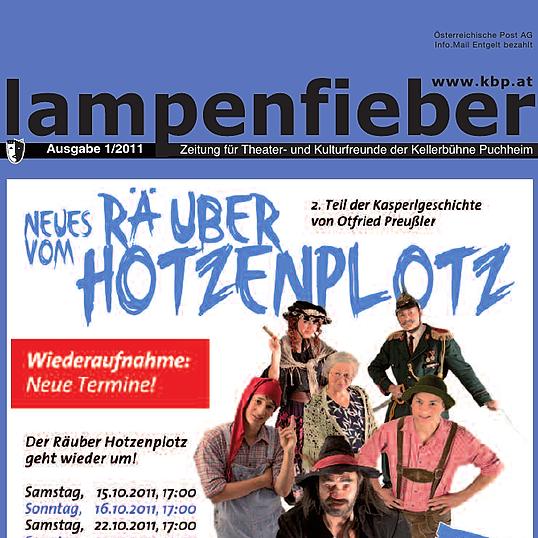 kbp.at/Kellerbühne Puchheim Lampenfieber Ausgabe 1/2011 Link Thumbnail   Linktree
