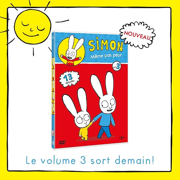@simonsuperrabbit Simon - DVD volume 3 (French) Link Thumbnail | Linktree