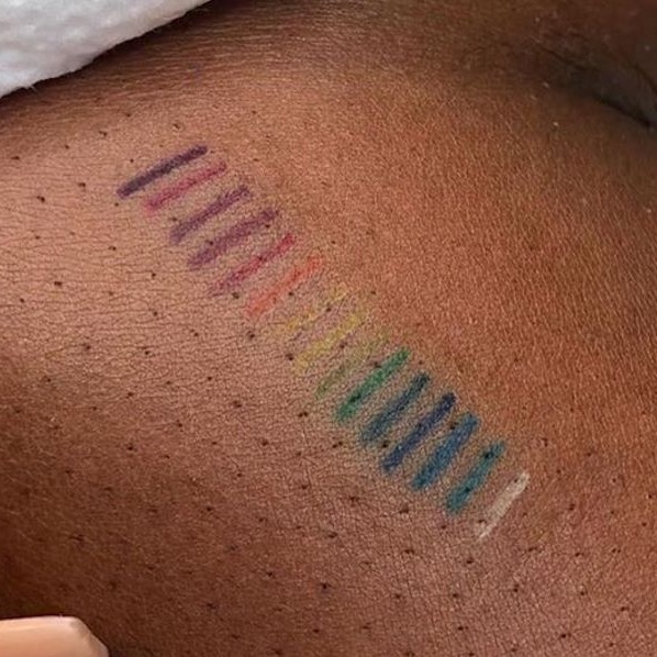 Tattoo Colour Patch Test for POC