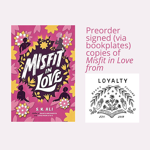 @skalibooks ORDER signed MISFIT IN LOVE from Loyalty Bookstore Link Thumbnail | Linktree