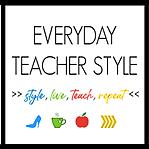 @everydayteacherstyle Everyday Teacher Style Blog Link Thumbnail | Linktree