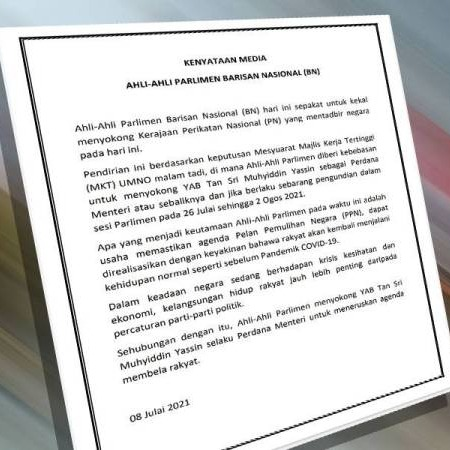 @sinar.harian Ahli Parlimen BN kekal sokong Muhyiddin Link Thumbnail | Linktree