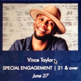 The REAL Vince Taylor 8/22 The Orlando Improv Comedy Club, Orlando, FL Link Thumbnail | Linktree