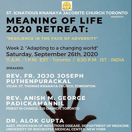 """@stignatiousseniors Speakers List for Week 2 of """"Meaning of Life 2020 Retreat"""" Seminar Link Thumbnail 