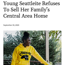 Seattle Medium Feature on Gentrification and Family Legacy