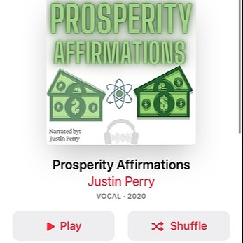 Prosperity Affirmations Album: Apple